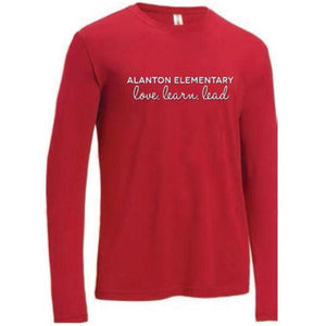 Love Learn Lead - Long Sleeve Shirt Adult - Fidgety