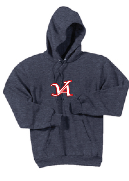 Fleece Hooded Sweatshirt / Navy / VA Aces - Fidgety