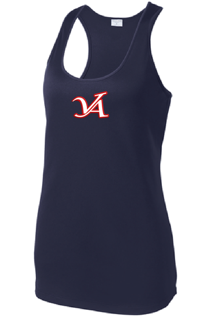 Ladies Dri-Fit Tank / Navy / VA Aces - Fidgety