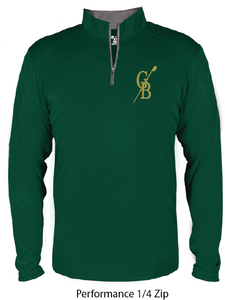 Forest Green Performance Pullover