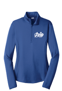Ladies PosiCharge® Competitor™ 1/4-Zip Pullover / Royal / Plaza AVID - Fidgety