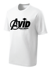 PosiCharge® RacerMesh® Tee / Heather Royal / Plaza AVID - Fidgety