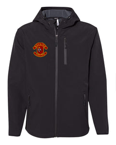 Poly-tech Soft Shell Jacket / Black / Bayside High School Soccer