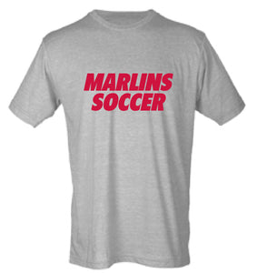 Softstyle Cotton T-Shirt / Heather Grey / Bayside High School Soccer
