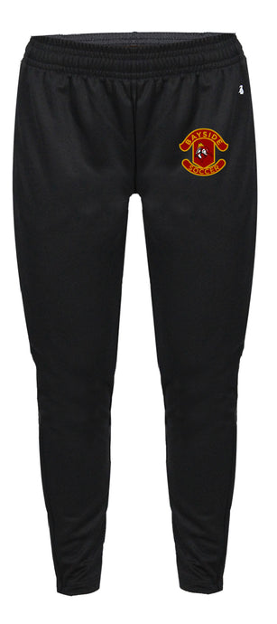 Polyester Trainer Pants / Black / Bayside High School Soccer