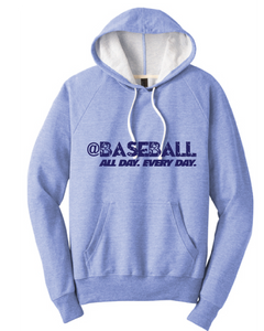 Baseball All Day Triblend French Terry Hoodie / Maritime Frost / Fidgety - Fidgety