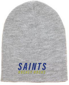 Beanie / Gray / Saints-[product_collection]