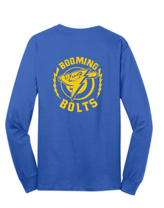 Long Sleeve Softstyle T-shirt (Youth & Adult) / Royal / Booming Bolts - Fidgety