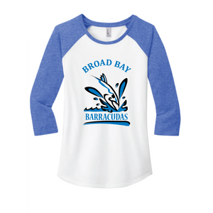 Baseball T-shirt (Youth & Adult) / Royal & White / Broad Bay Swim - Fidgety