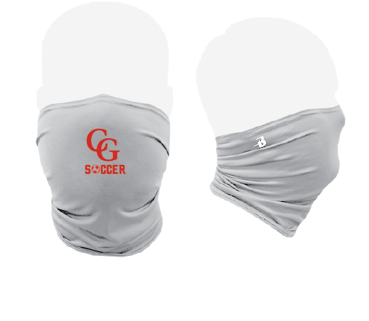 Performance Activity Mask / Silver / Center Grove Soccer