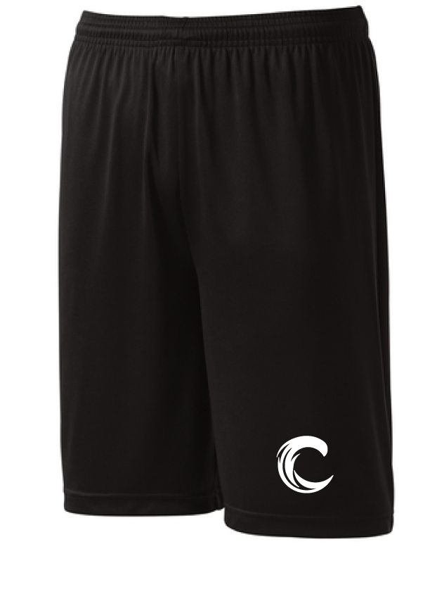 PosiCharge Competitor Shorts (Youth & Adult) / Navy / Coastal Cannons - Fidgety