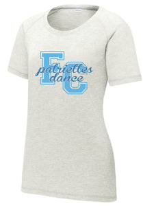 Tri-Blend Scoop Neck T-shirt / Light Gray Heather / FC Dance - Fidgety