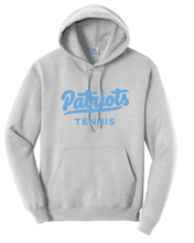 Fleece Hooded Sweatshirt / Ash / FC Tennis