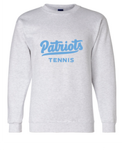 Champion Double Dry Crewneck Sweatshirt / Light Gray / FC Girls Tennis - Fidgety