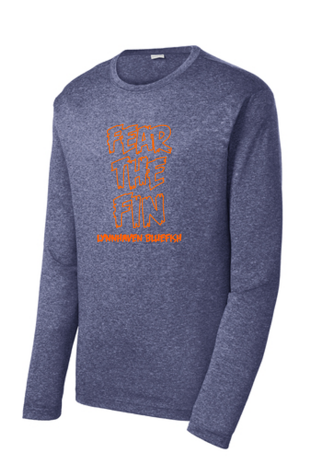 Long Sleeve Heather Contender Tee / Navy Heather / LMS - Fidgety