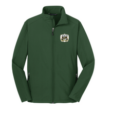 Core Soft Shell Jacket / Forest Green / Great Bridge High School Soccer
