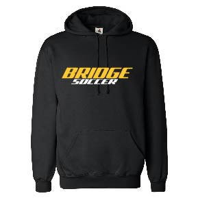 Fleece Hooded Sweatshirt / Black / Great Bridge High School Soccer