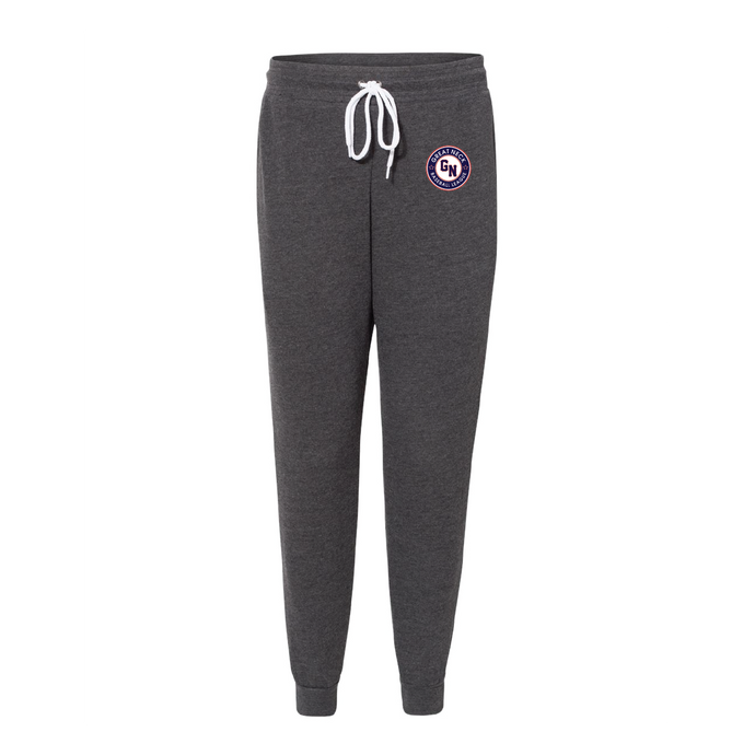 Unisex Jogger Sweatpants / Grey / Great Neck Baseball