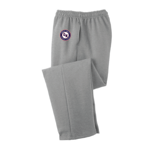 Core Fleece Sweatpants / Athletic Grey / Great Neck Baseball
