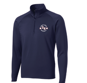 Sport-Wick Stretch 1/2-Zip Pullover / 2 Colors / Great Neck Baseball