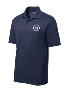 PosiCharge RacerMesh Polo / Navy / Great Neck Baseball