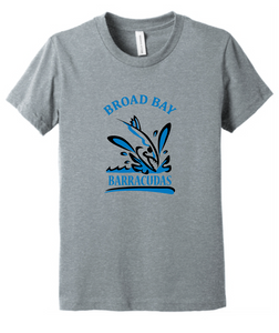TriBlend T-Shirt (Youth & Adult) / Heather Gray / Broad Bay Swim - Fidgety