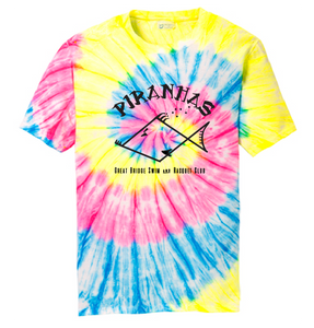 Tie Die Short Sleeve T-Shirt / Youth / Piranhas - Fidgety