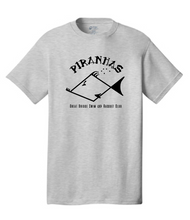 Grey Performance T-shirt / Adult / Piranhas - Fidgety