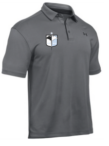UA Tech Polo / Graphite / Great Neck Soccer - Fidgety