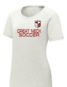 Short Sleeve Dri-Fit / Heather Gray / Great Neck Soccer - Fidgety