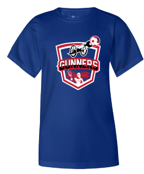 Badger Youth B-Core T-Shirt / Royal / Gunners - Fidgety