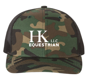 Low Profile Trucker Hat / Camo / HK