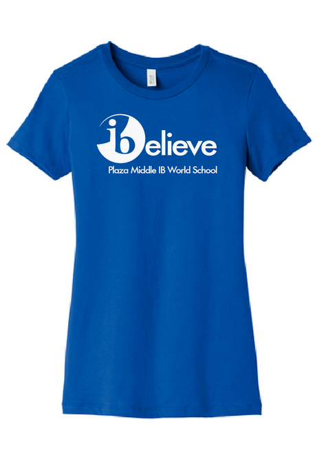 iBelieve Women's T-Shirt / Plaza - Fidgety
