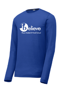 iBelieve Long Sleeve T-Shirt / Plaza - Fidgety