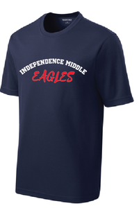 PosiCharge RacerMesh Tee / Navy / Independence Middle - Fidgety