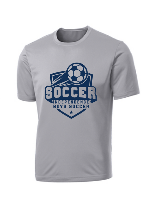 Performance Tee (Youth & Adult) / Silver / Independence Boys Soccer - Fidgety