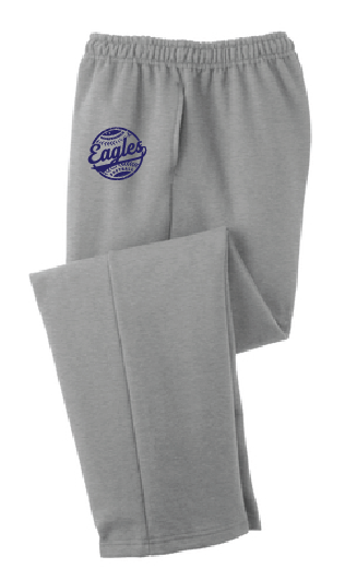 Core Fleece Sweatpants with Pockets / Gray / IMS Softball - Fidgety