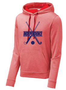 Sport-Wick Heather Fleece Hooded Sweatshirt / Heather Red / IMS Field Hockey - Fidgety