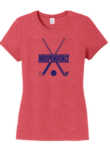 Tri-Blend T-Shirt / Red / IMS Field Hockey - Fidgety