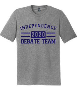 Softstyle Short Sleeve T-Shirt (Youth & Adult) / Heather Grey / Independence Debate