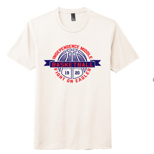 Short Sleeve Softstyle T-Shirt / Natural / Independence Girls Basketball