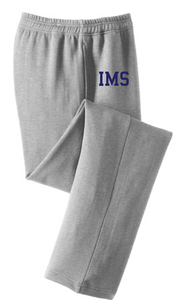 Core Fleece Sweatpants with Pockets / Ash Gray / Independence Basketball