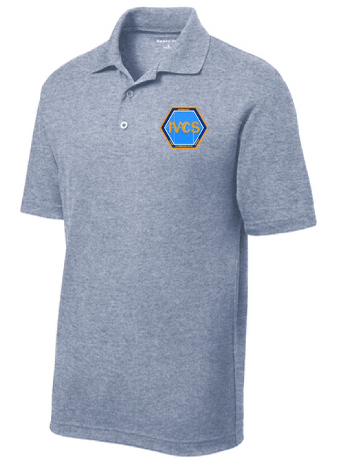 Men's Performance Polo / Heather Navy / IVCS