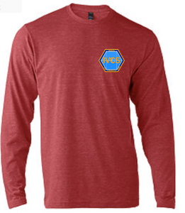 Long Sleeve Softstyle T-Shirt / Heather Red / IVCS