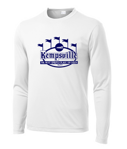 Long Sleeve PosiCharge Competitor Tee / White / Kempsville High School