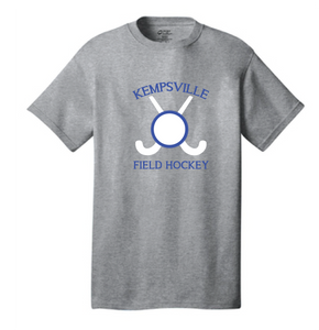 Cotton T-Shirt / Ash Gray / Kempsville Field Hockey - Fidgety