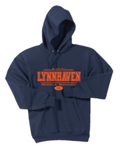 Fleece Hooded Sweatshirt / Navy / LMS - Fidgety