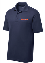 Men's Performance Polo / Navy / Lynnhaven Staff - Fidgety
