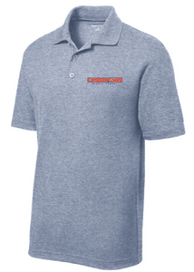Men's Performance Polo / Grey Heather / Lynnhaven Staff - Fidgety