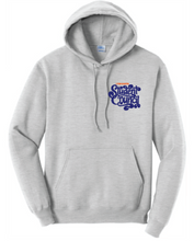 Fleece Hooded Sweatshirt (Youth & Adult) / Ash Gray / LMS Student Council